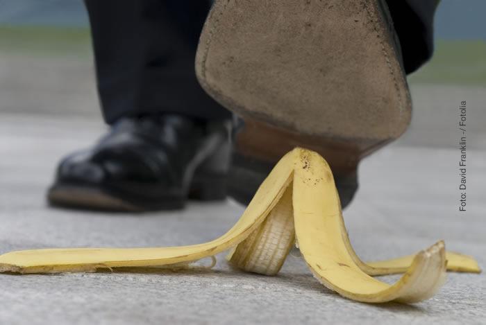 Las caídas son el accidente laboral más común en oficinas