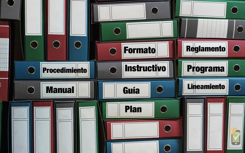 Tipos de documentos del SGSST