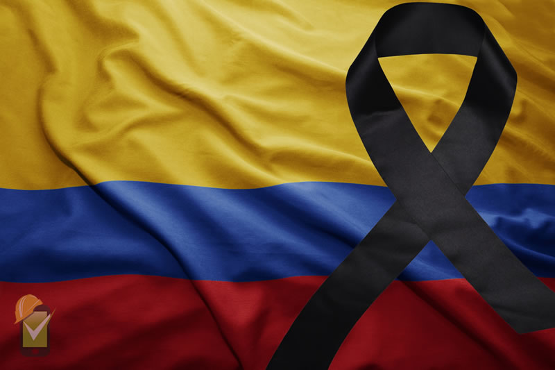 La mortalidad de los accidentes laborales en Colombia se incrementó en 2016 con respecto al 2015
