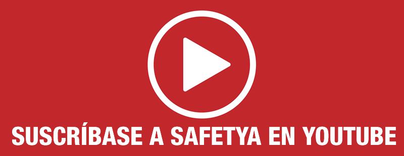 Suscríbase al canal de SafetYA en Youtube