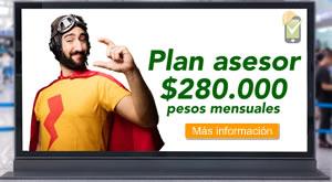 Banner promocional plan asesor de SafetYA