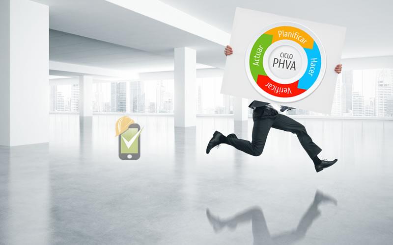 El ciclo PHVA está presente tanto en OHSAS 18001 como en el Decreto 1072 de 2015