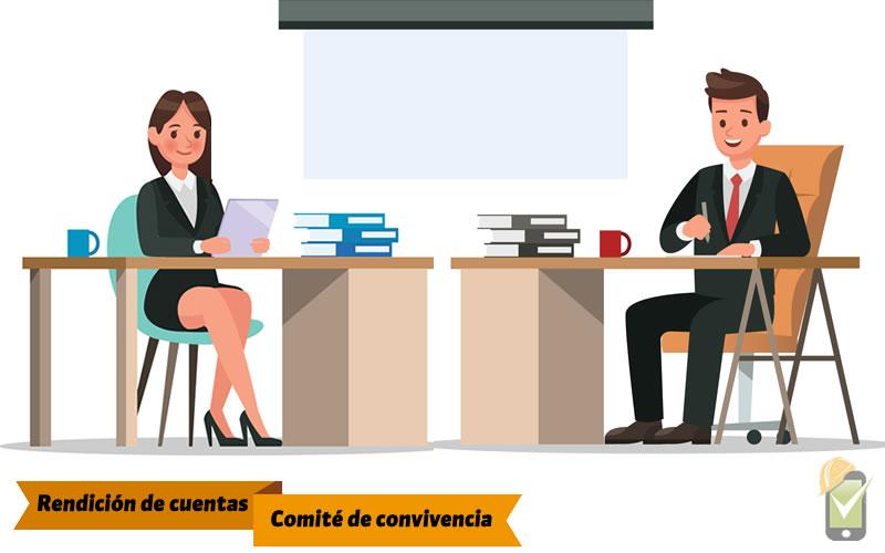 La rendición de cuentas del comité de convivencia laboral se debe realizar anualmente