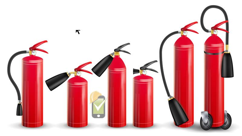 Periódicamente se debe realizar una inspección de extintores portátiles contraincendios