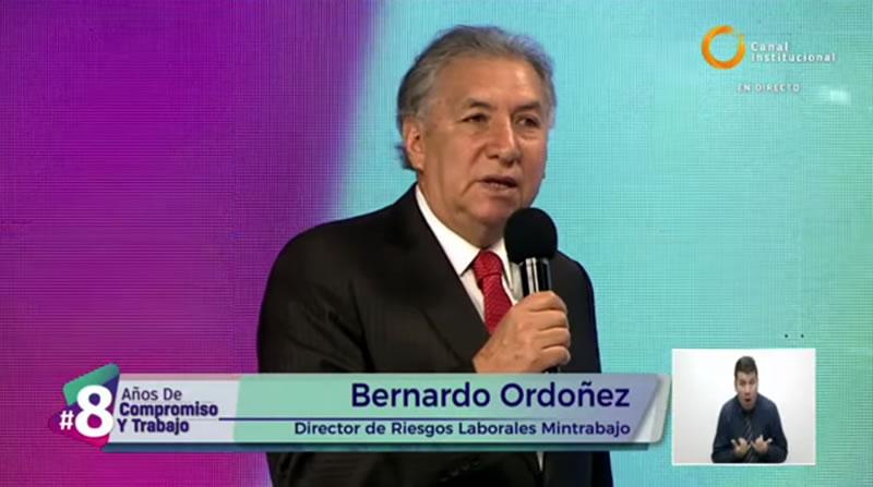 Bernardo Ordoñez, director de riesgos laborales