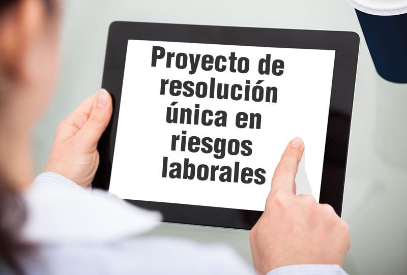 El proyecto de resolución única de Mintrabajo en riesgos laborales recibirá comentarios hasta el 3 de julio de 2018