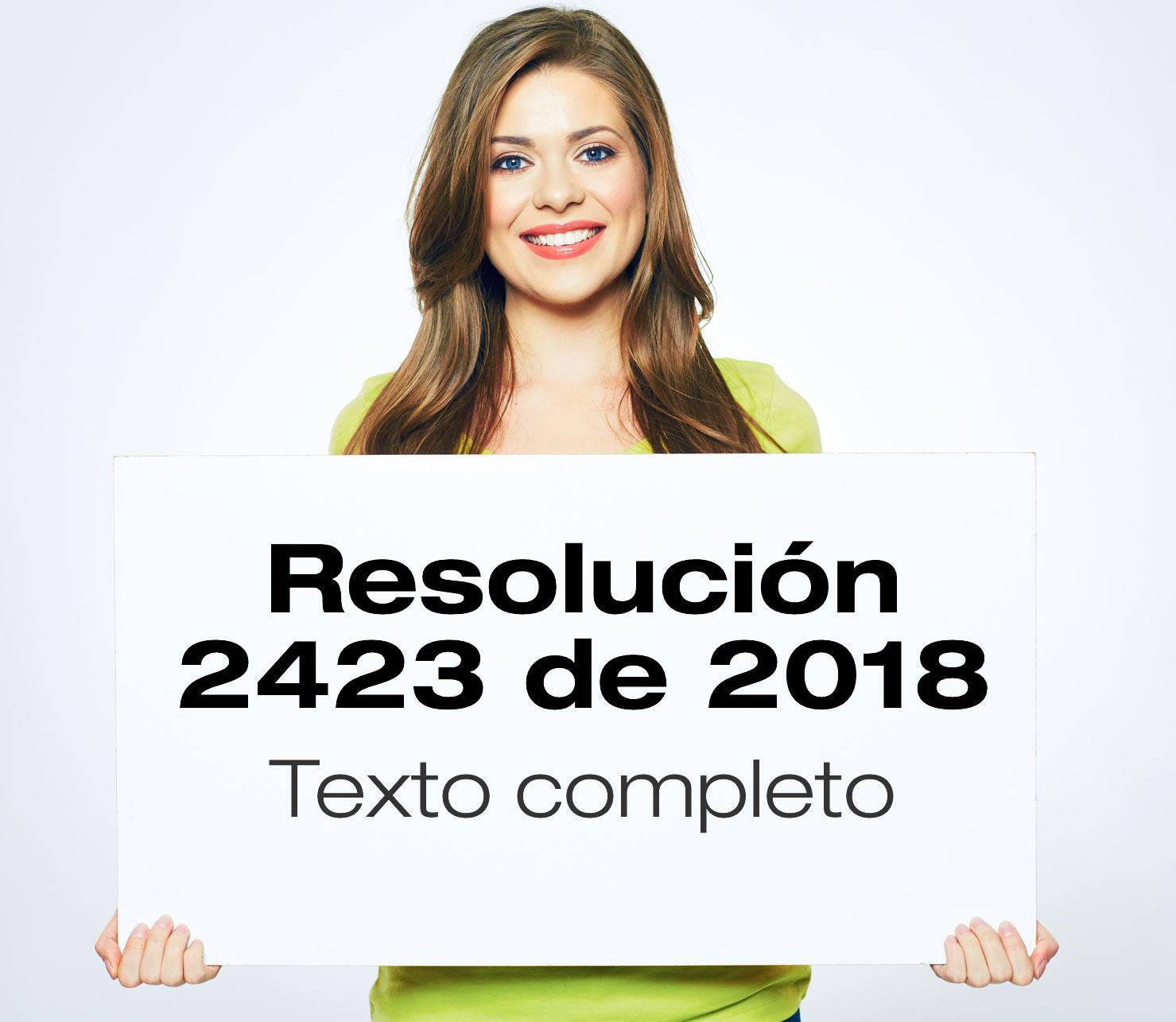 La Resolución 2423 de 2018 establece los parámetros técnicos para la operación de la estrategia Salas Amigas de la Familia Lactante del Entorno Laboral.