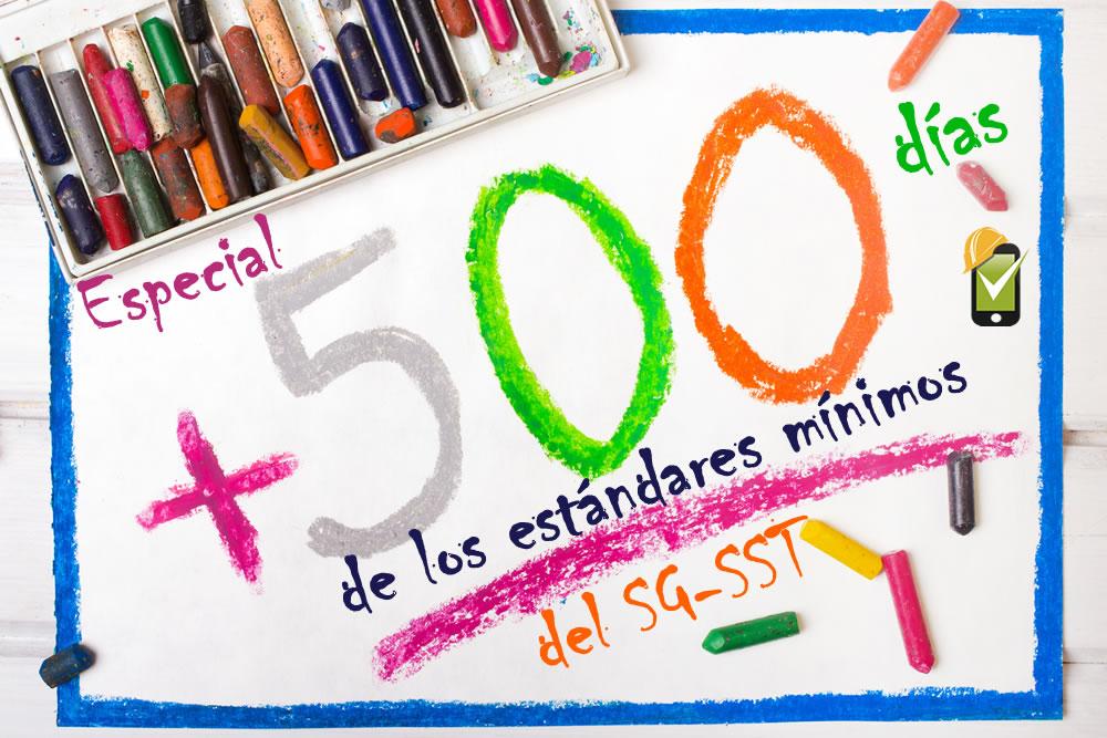 Especial: 500 días de los estándares mínimos del SG-SST