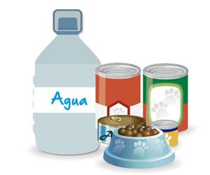 El kit de emergencias para mascotas debe incluir agua