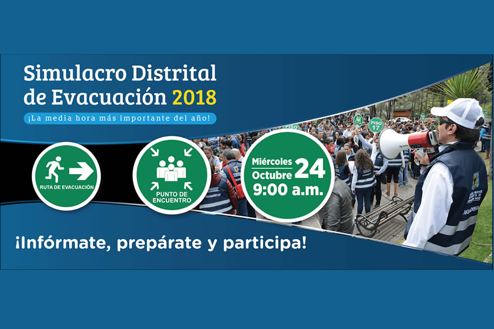 Simulacro Distrital de Evacuación 2018