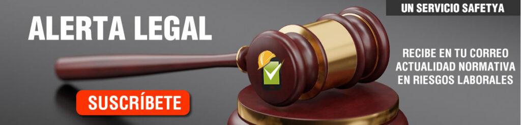 Alerta legal en Seguridad y Salud en el Trabajo
