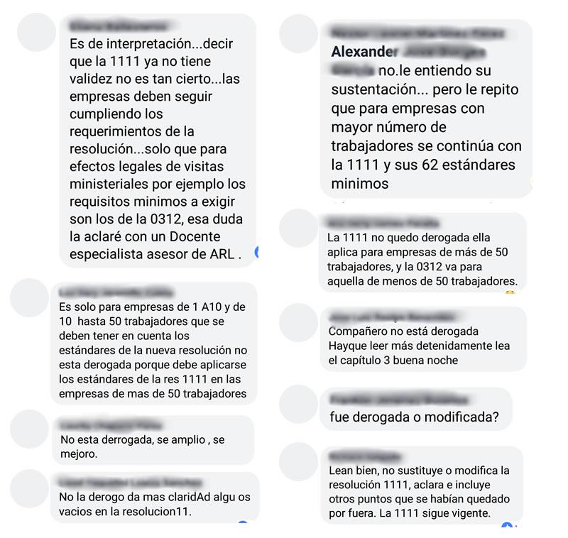 Confusión en redes sociales sobre la derogatoria de la Resolución 1111 de 2017