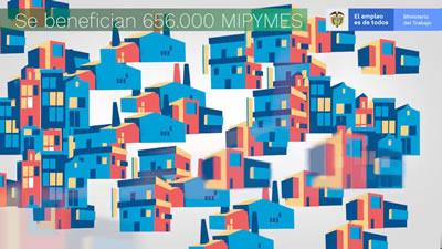 656000 Mipymes en Colombia
