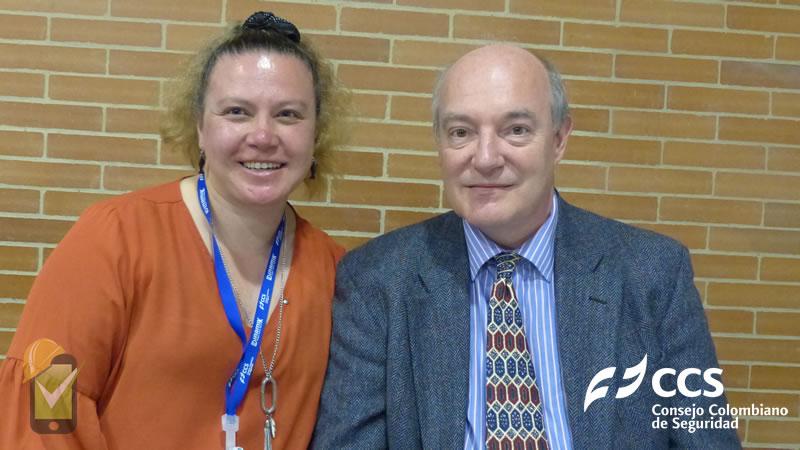 Carolina Avila, directora de SafetYA, entrevista a Charles Corrie, presidente comité ISO 45001