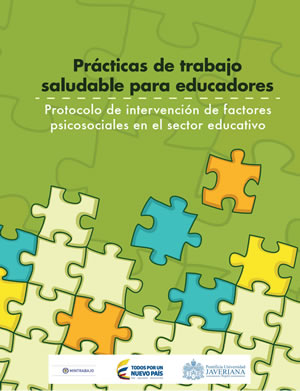 Portada protocolo de intervención sector educativo