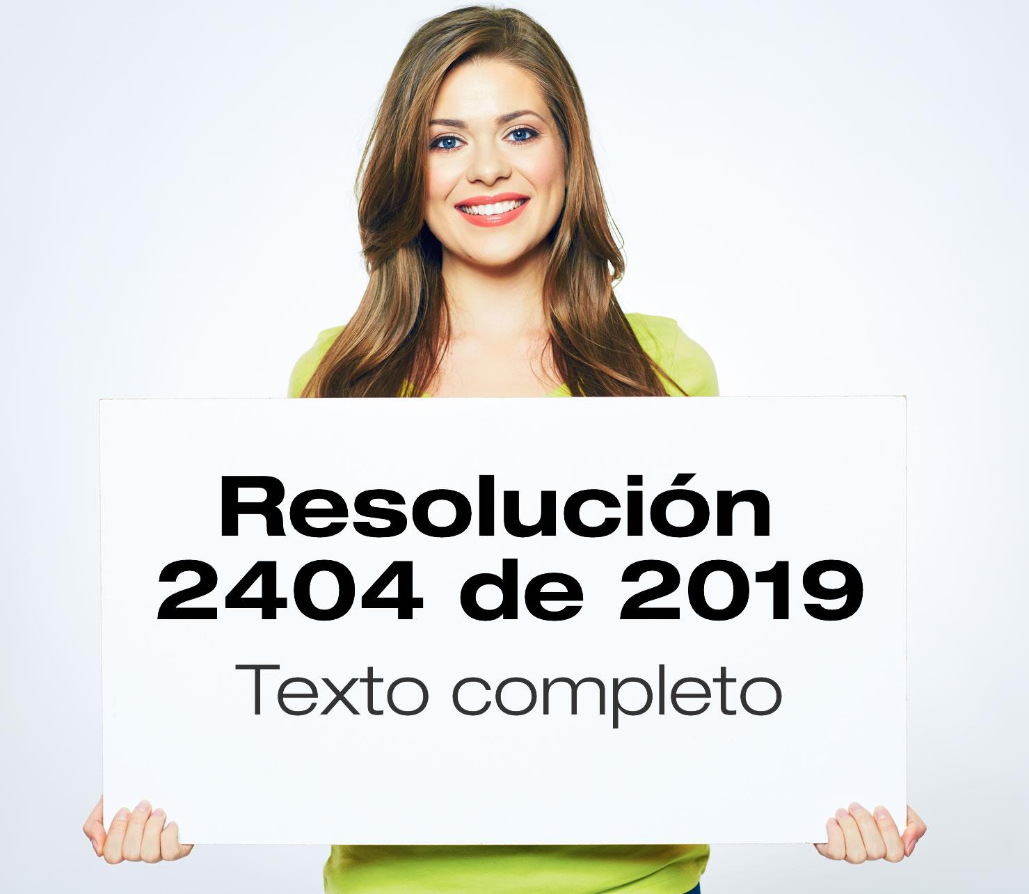 La Resolución 2404 de 2019 adopta la batería, guías y protocolos de riesgo psicosocial