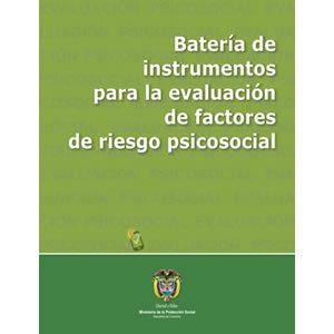 Versión impresa del manual de la batería de riesgo psicosocial