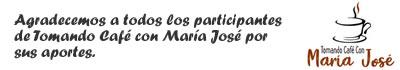 Logo de Tomando Café con María José