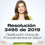 Resolución 3495 de 2019