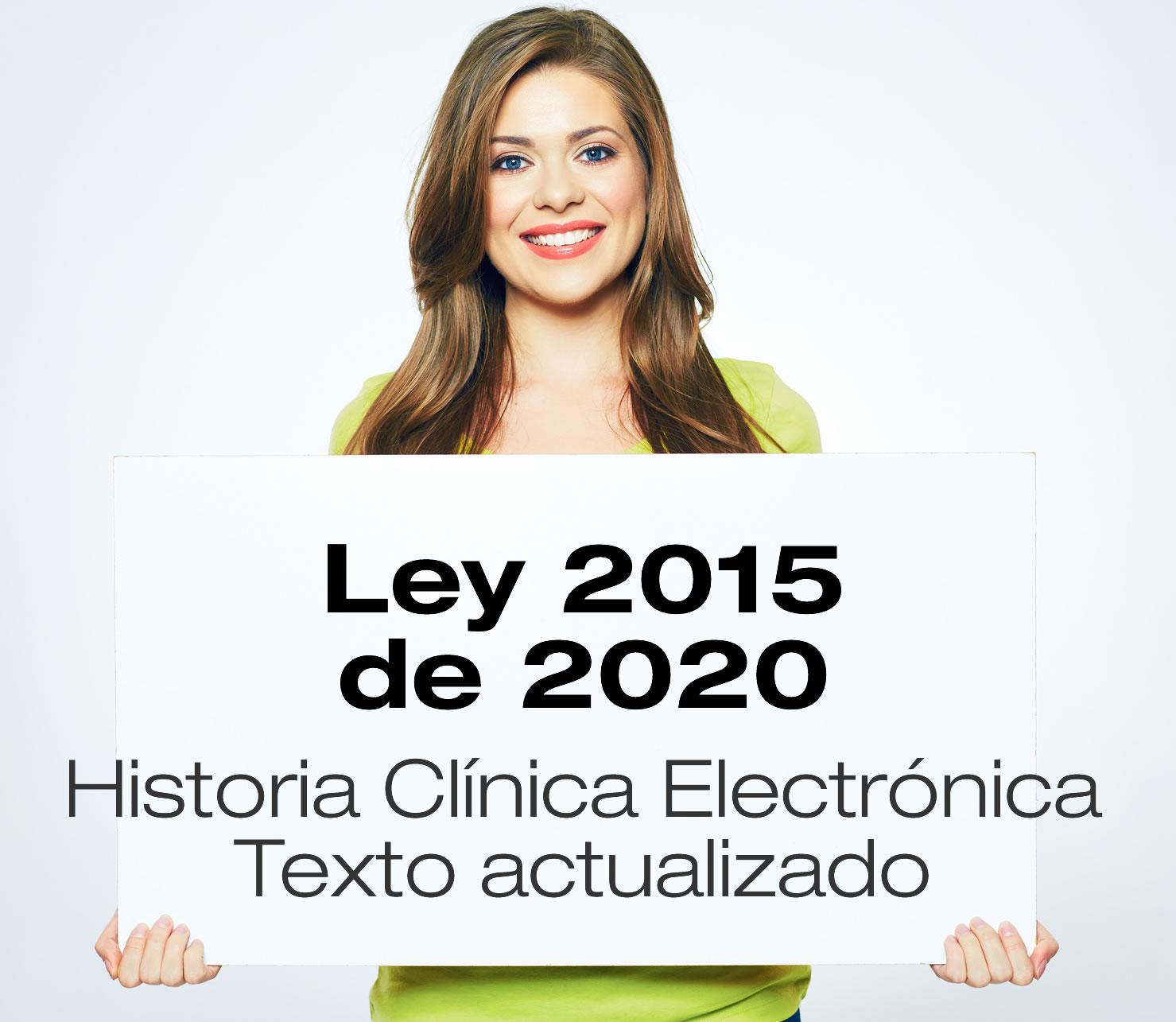 Ley 2015 de 2020 - Historia Clínica Electrónica