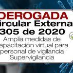 La Circular Externa 305 de 2020 Amplía medidas de capacitación virtual para personal de vigilancia y seguridad privada