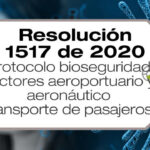 La Resolución 1517 de 2020 deroga la Resolución 1054 de 2020