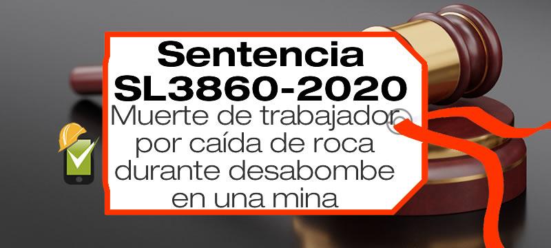 En la Sentencia SL2860-2020, se analiza un accidente de trabajo en una mina, examinando si las evidencias conducen a la culpa del empleador.