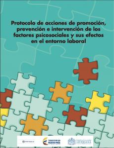 Portada del Protocolo del Ministerio del Trabajo