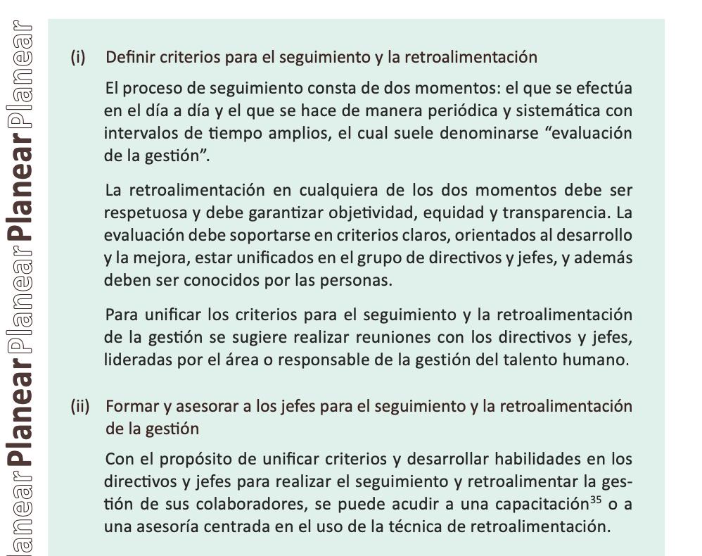 Acciones de la etapa Planear elegidas para el caso de Pérez y Correa Abogados