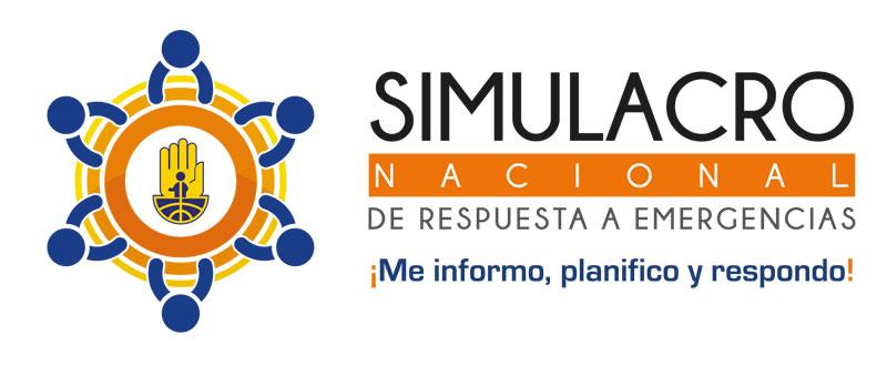 El simulacro nacional de respuesta a emergencias se realizará el 7 de octubre de 2021